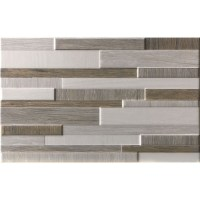 Idea Ceramica dekorcsempe Idea Ceramica White and Wood brick grey dekorcsempe